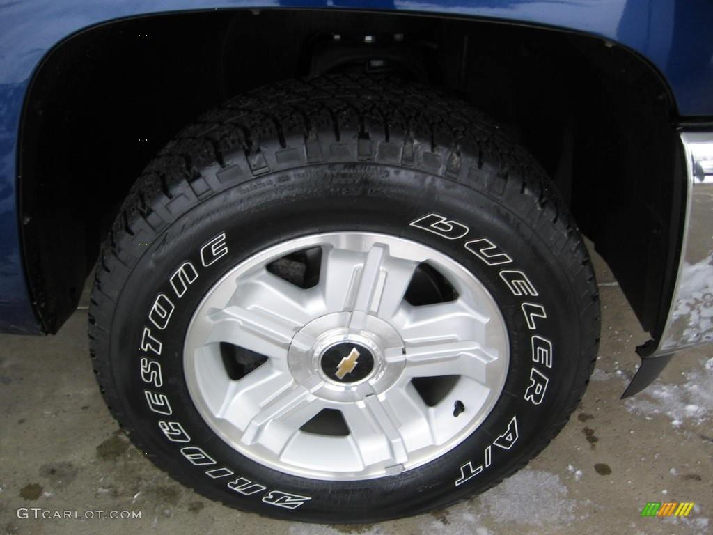 2013 Silverado 1500 LT Regular Cab 4x4 - Blue Topaz Metallic / Ebony photo #15
