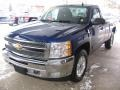 2013 Blue Topaz Metallic Chevrolet Silverado 1500 LT Regular Cab 4x4  photo #19