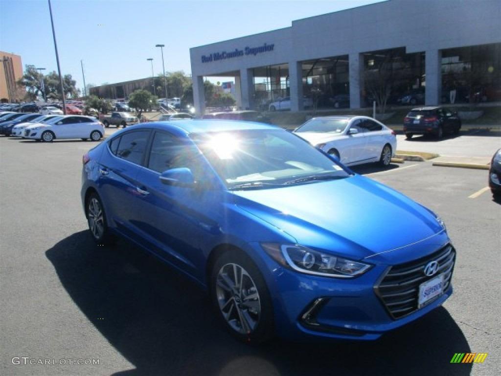 2017 Electric Blue Hyundai Elantra Limited 110780857