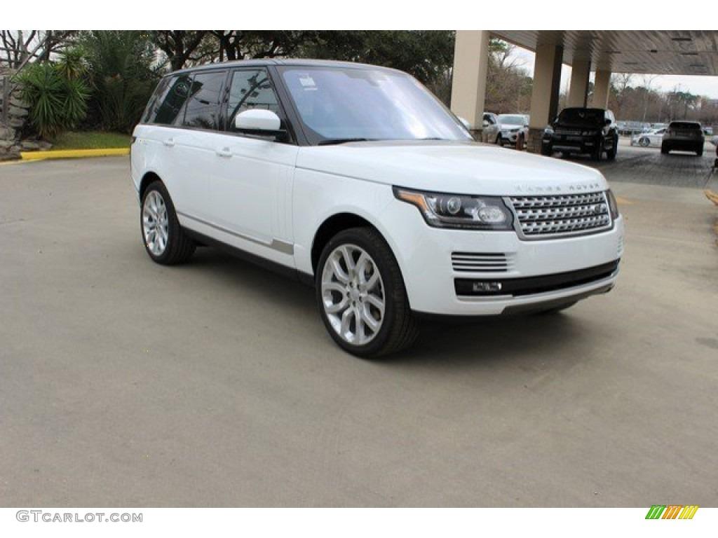 Fuji White Land Rover Range Rover