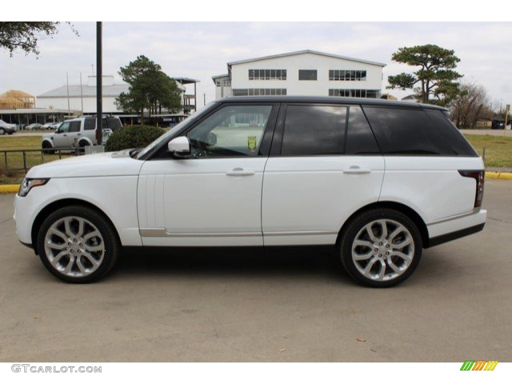 2016 Range Rover HSE - Fuji White / Ebony/Ebony photo #8