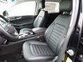 Ebony 2016 Ford Edge Interiors