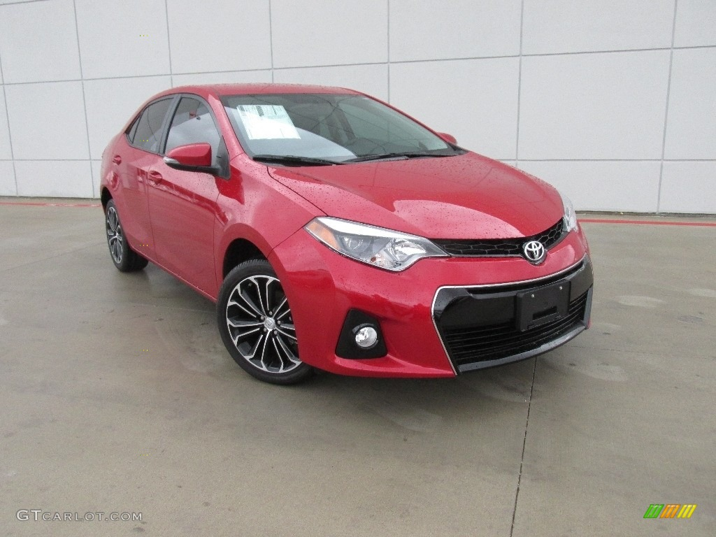 2016 Barcelona Red Metallic Toyota Corolla S Plus 110804208 Car Color Galleries
