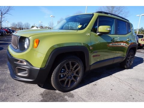 2016 jeep renegade 75th anniversary data info and specs. Black Bedroom Furniture Sets. Home Design Ideas