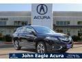 Crystal Black Pearl 2016 Acura RDX Advance