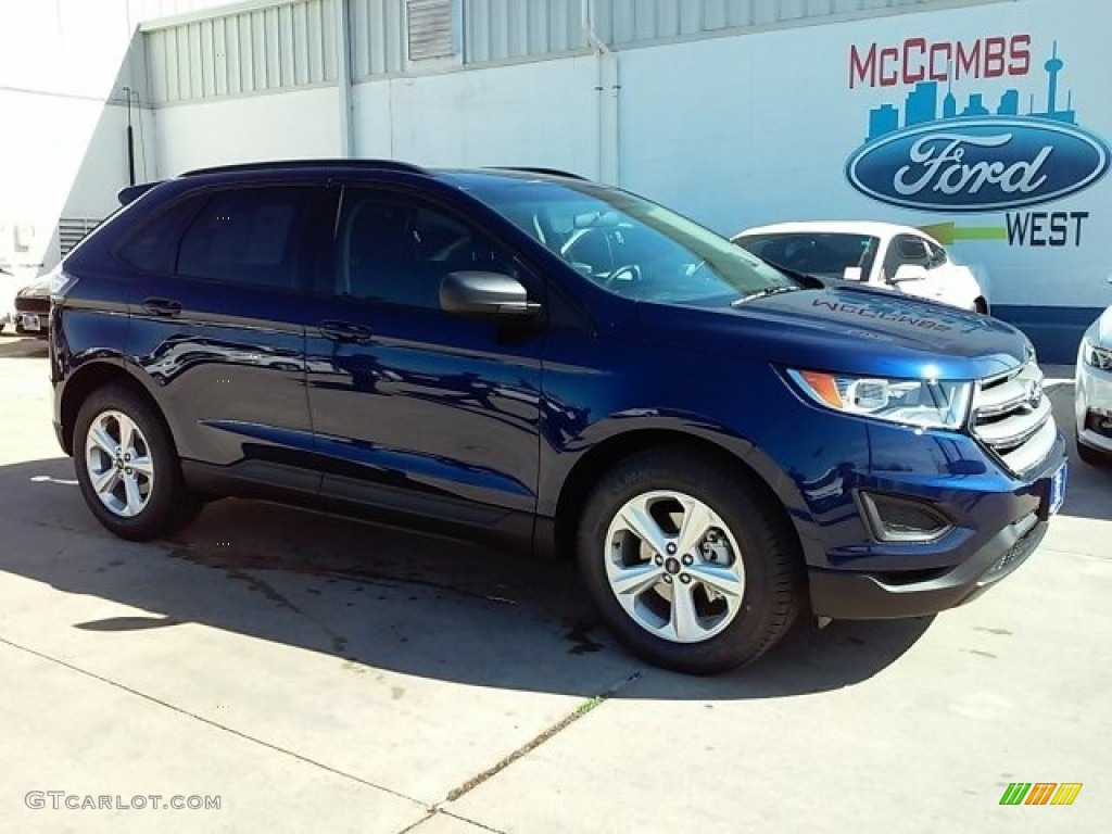 Kona Blue Ford Edge
