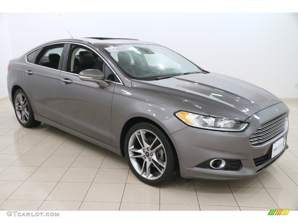 2014 sterling gray ford fusion titanium awd 110839449 car color galleries. Black Bedroom Furniture Sets. Home Design Ideas