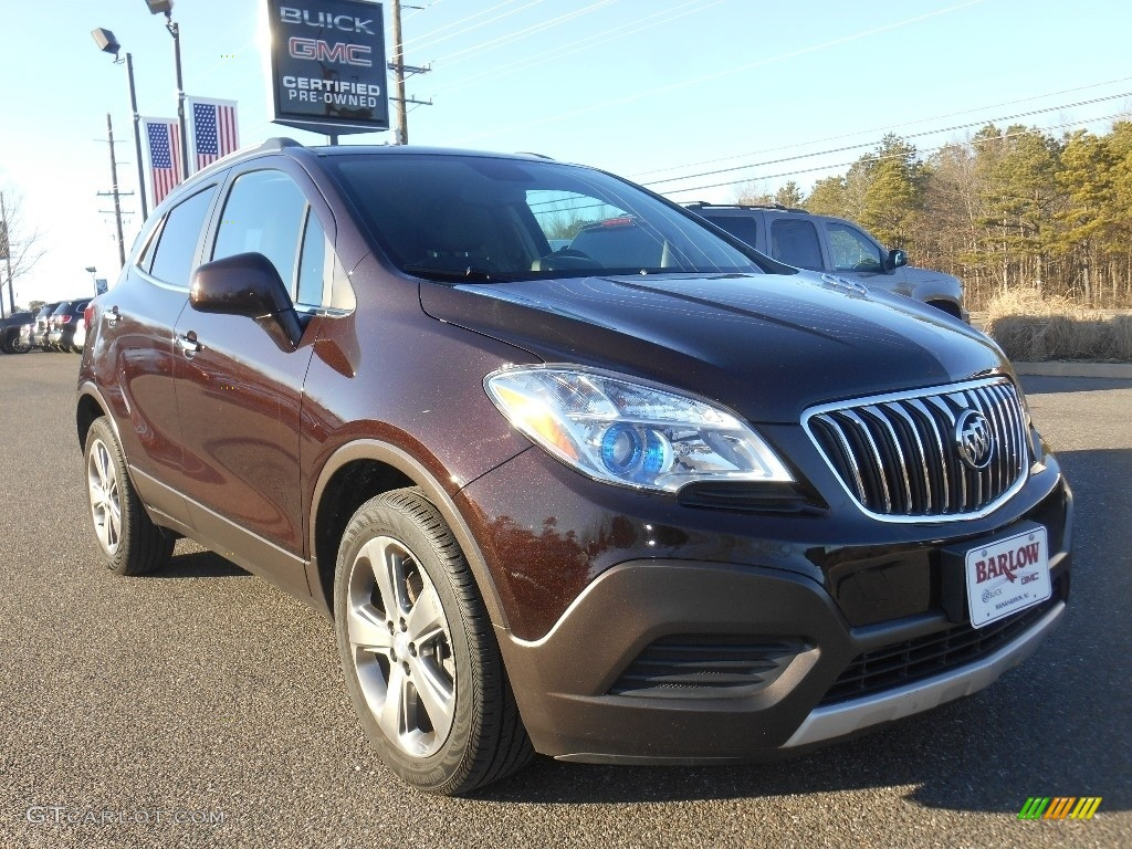 2013 Deep Espresso Brown Metallic Buick Encore 110872700 Car Color Galleries