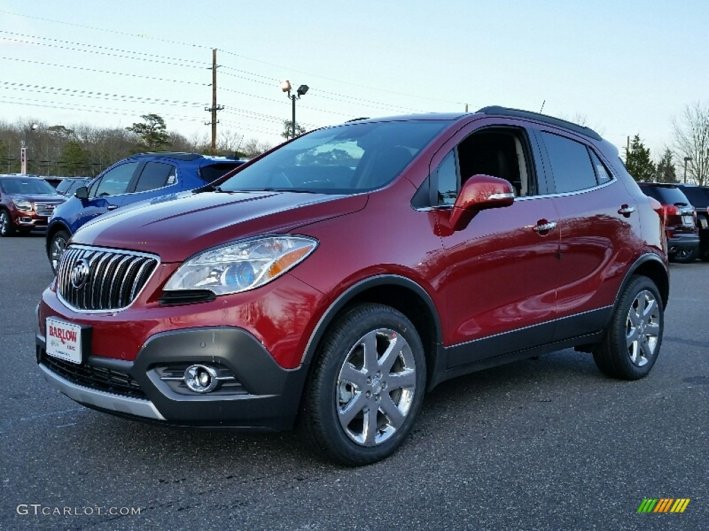 2016 winterberry red metallic buick encore premium awd 110872696 photo 7 car. Black Bedroom Furniture Sets. Home Design Ideas