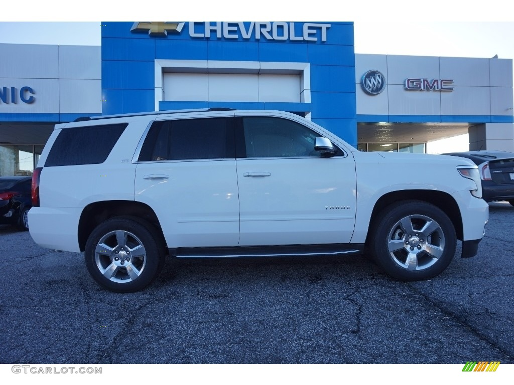 2016 Summit White Chevrolet Tahoe Ltz 110873092 Photo 8 Car Color Galleries