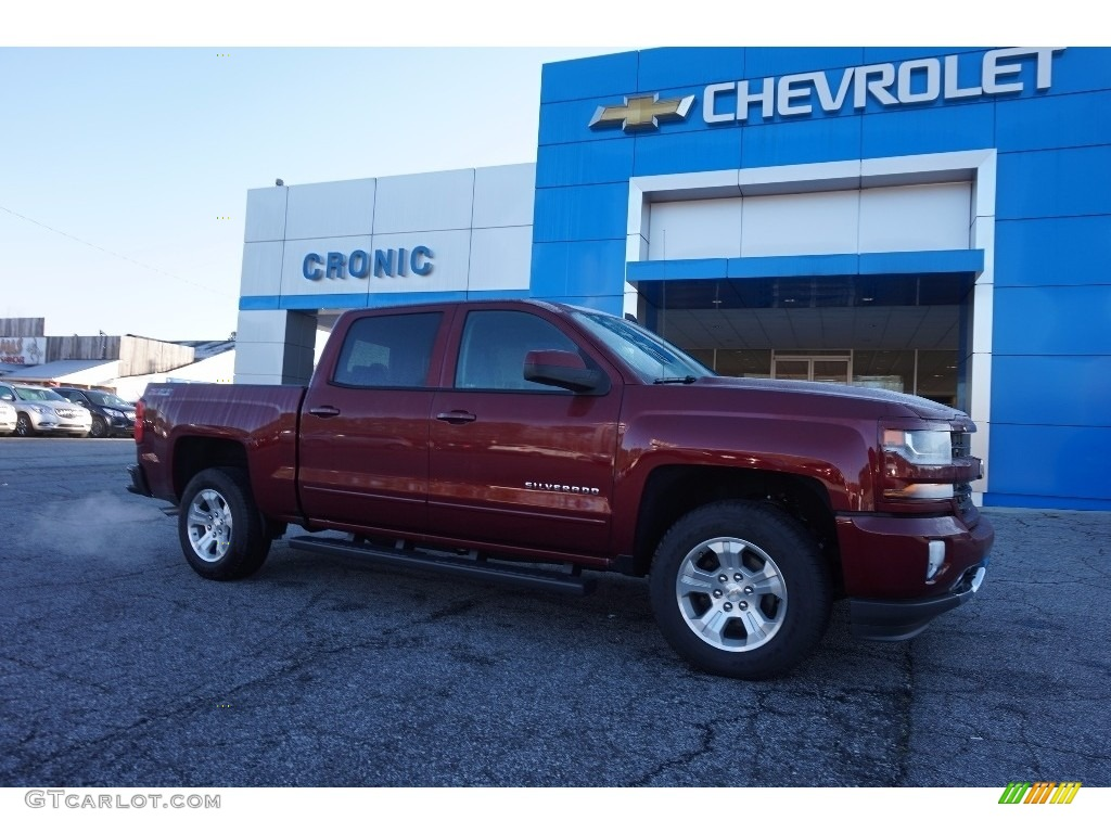 2016 siren red tintcoat chevrolet silverado 1500 lt crew. Black Bedroom Furniture Sets. Home Design Ideas