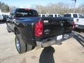 2008 Brilliant Black Crystal Pearl Dodge Ram 3500 SLT Quad Cab 4x4 Dually  photo #4