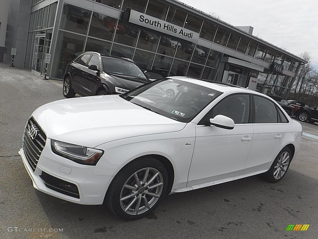 Ibis White Audi A T Premium Quattro GTCarLot - South hills audi