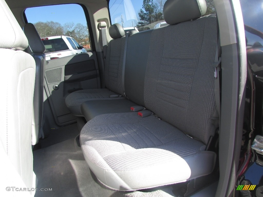 2008 Ram 3500 SLT Quad Cab 4x4 Dually - Brilliant Black Crystal Pearl / Medium Slate Gray photo #31
