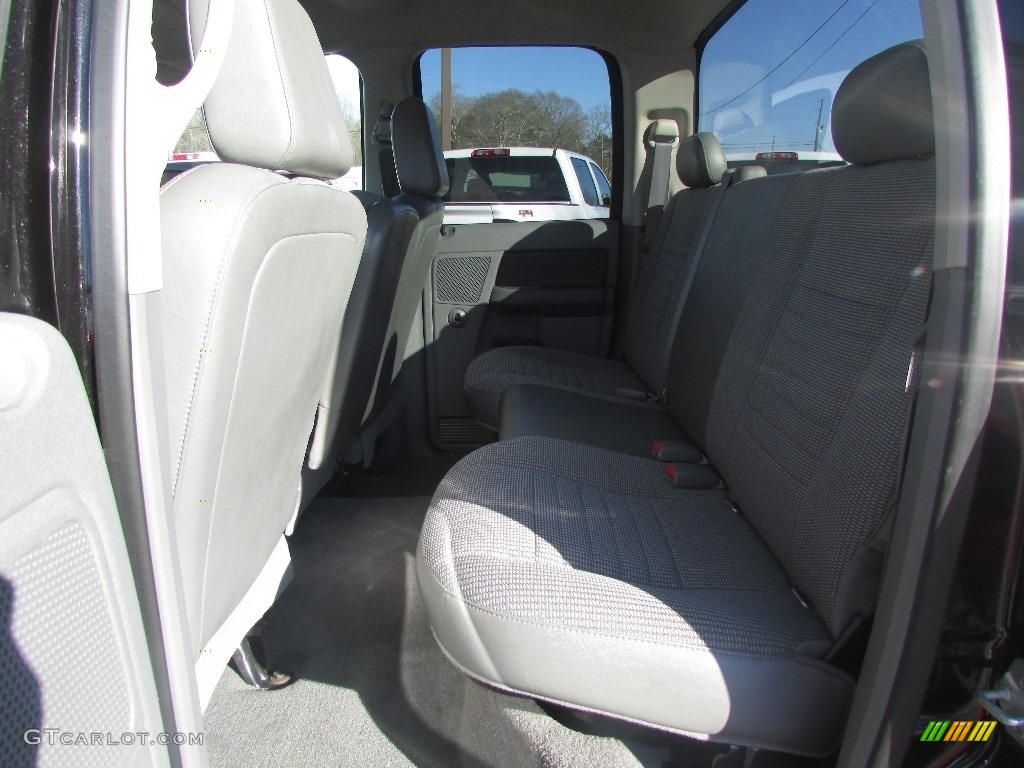 2008 Ram 3500 SLT Quad Cab 4x4 Dually - Brilliant Black Crystal Pearl / Medium Slate Gray photo #32