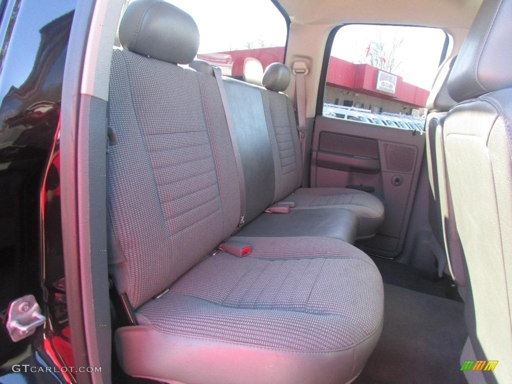 2008 Ram 3500 SLT Quad Cab 4x4 Dually - Brilliant Black Crystal Pearl / Medium Slate Gray photo #34