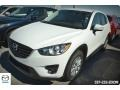 2016 Crystal White Pearl Mica Mazda CX-5 Touring #110911718