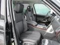 2016 Land Rover Range Rover Ebony/Ebony Interior Front Seat Photo
