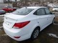 Century White - Accent SE Sedan Photo No. 7