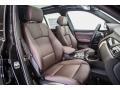 2016 BMW X3 Mocha Interior Interior Photo