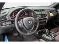 2016 BMW X3 Mocha Interior Dashboard Photo