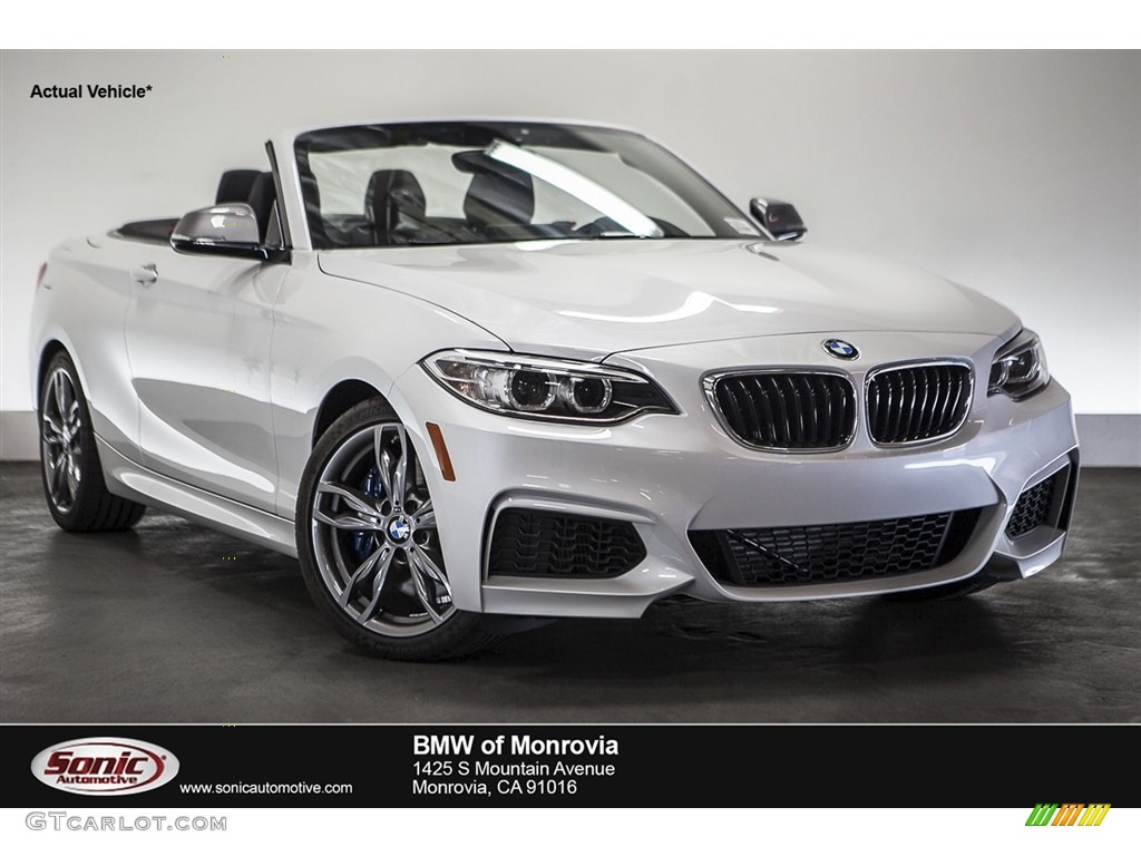 2015 Mineral White Metallic Bmw 2 Series M235i Convertible 110944085 Car Color
