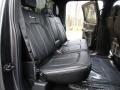 2016 Ford F150 Platinum Black Interior Rear Seat Photo
