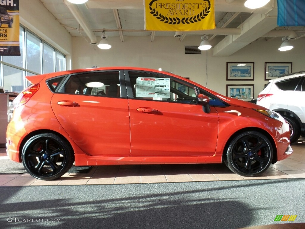 Orange Ford Fiesta St Pictures to Pin on Pinterest - PinsDaddy