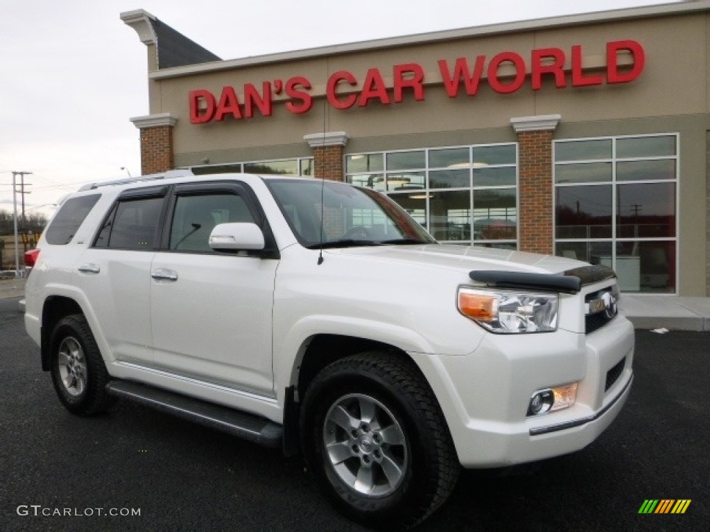 2010 blizzard white pearl toyota 4runner sr5 4x4 110944161 photo 2 car color. Black Bedroom Furniture Sets. Home Design Ideas