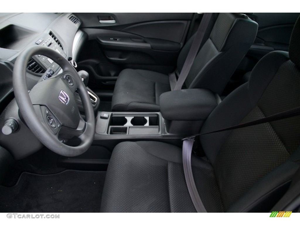 2015 CR-V LX AWD - Crystal Black Pearl / Black photo #3
