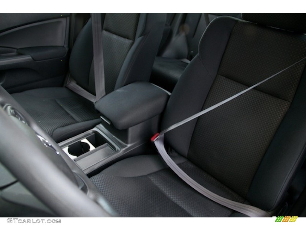 2015 CR-V LX AWD - Crystal Black Pearl / Black photo #14