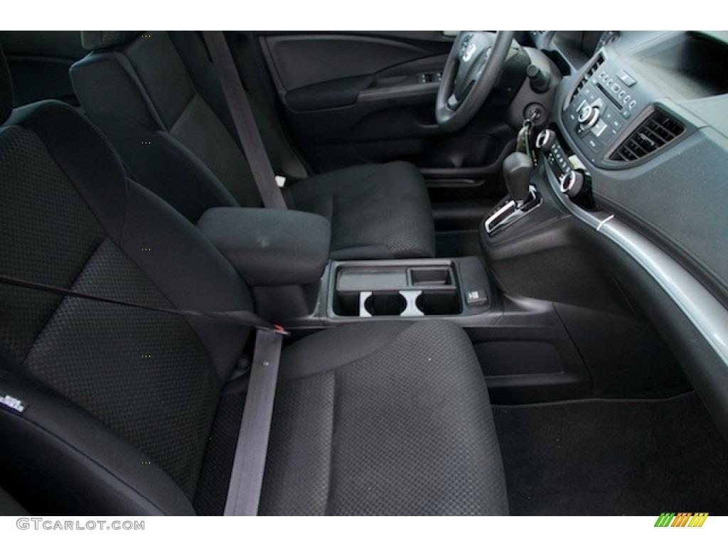 2015 CR-V LX AWD - Crystal Black Pearl / Black photo #19