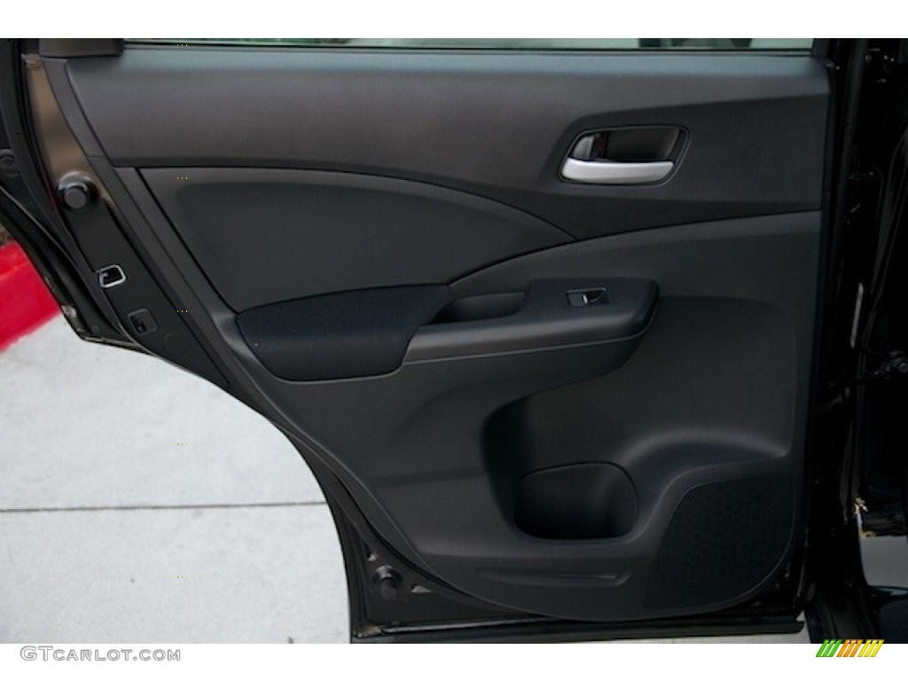 2015 CR-V LX AWD - Crystal Black Pearl / Black photo #25