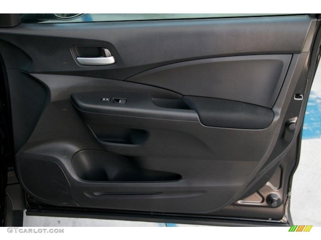 2015 CR-V LX AWD - Crystal Black Pearl / Black photo #27