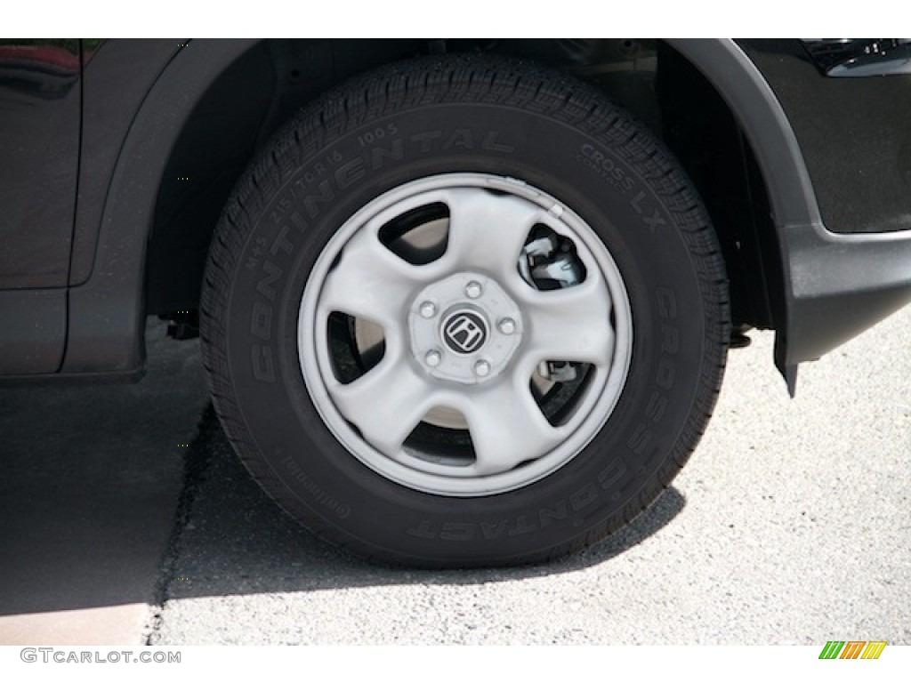 2015 CR-V LX AWD - Crystal Black Pearl / Black photo #32