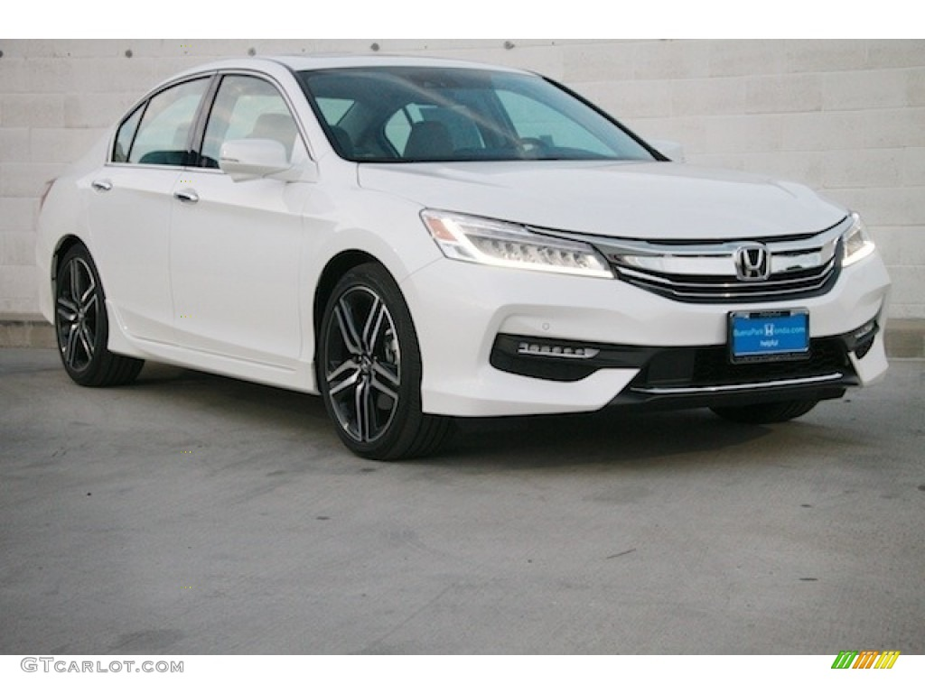 2016 white orchid pearl honda accord touring sedan
