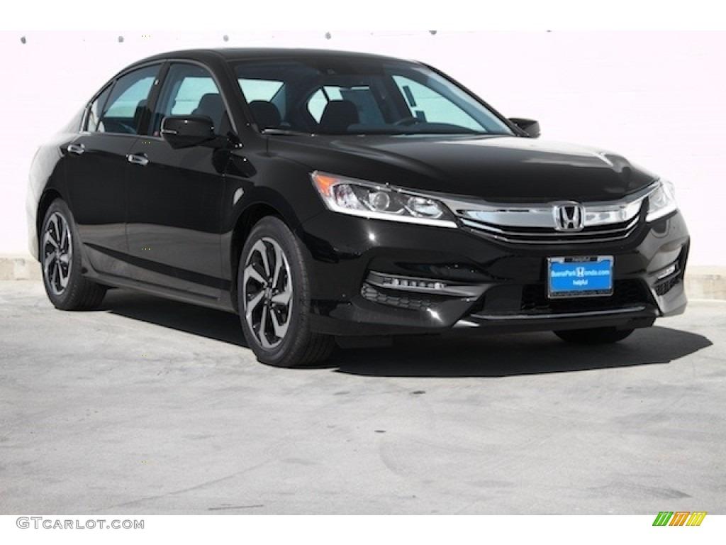 2016 crystal black pearl honda accord ex l v6 sedan for Honda accord 2016 black