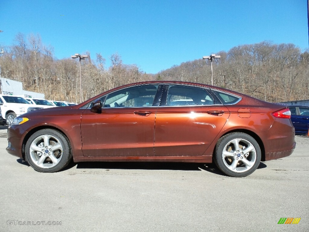 Bronze Fire Metallic Ford Fusion