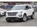 2016 Oxford White Ford Explorer XLT  photo #1