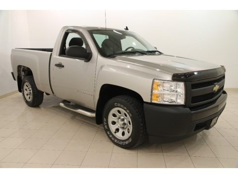 2008 Chevrolet Silverado 1500 Work Truck Regular Cab Data, Info and Specs