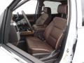 Front Seat of 2016 Silverado 1500 High Country Crew Cab 4x4