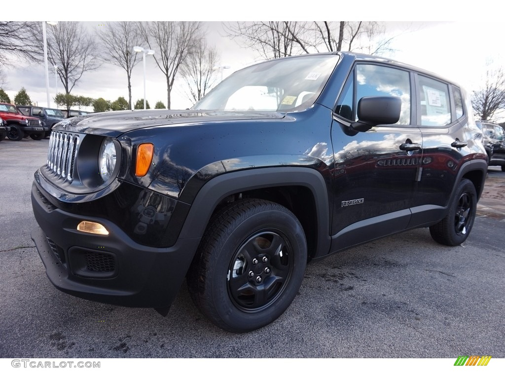 2016 black jeep renegade sport 111010427 car color galleries. Black Bedroom Furniture Sets. Home Design Ideas