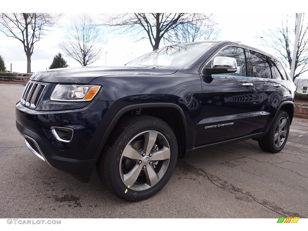 True Blue Pearl Jeep Grand Cherokee Limited