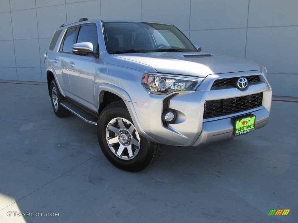 2016 4runner Trail Premium 4x4 Clic Silver Metallic Black Photo 2