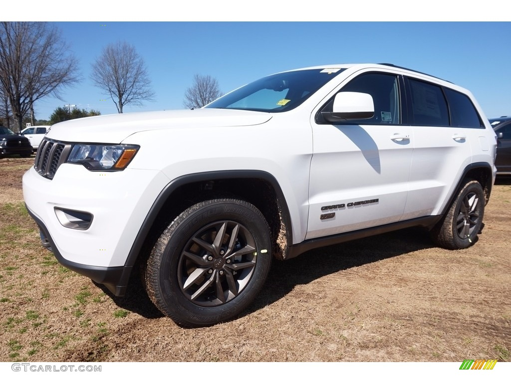 2016 bright white jeep grand cherokee 75th anniversary edition. Cars Review. Best American Auto & Cars Review