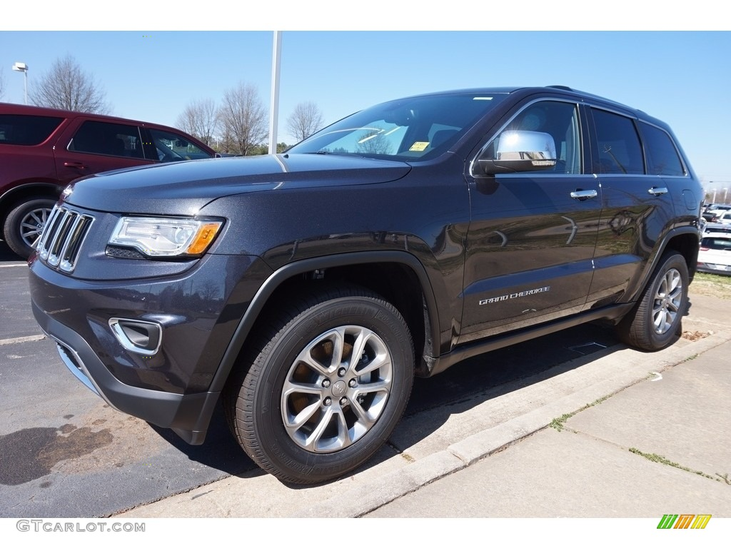 2016 Grand Cherokee Limited Maximum Steel Metallic Black Photo 1