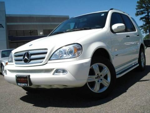 2005 Mercedes-Benz ML 350 4Matic Special Edition Data, Info and Specs