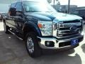 2016 Blue Jeans Metallic Ford F250 Super Duty Lariat Crew Cab 4x4 #111105762