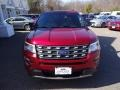 2016 Ruby Red Metallic Tri-Coat Ford Explorer XLT 4WD  photo #2