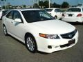 2008 Premium White Pearl Acura TSX Sedan  photo #7